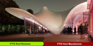 PTFE Roof Structure Manufacturer