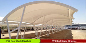 PVC Roof Shade Structure Manufacturer