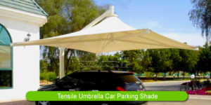 Tensile Umbrella Car Parking Shade