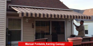 Manual Foldable Awning Canopy