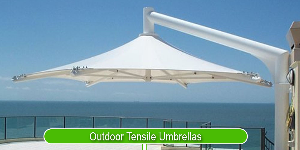 Outdoor Tensile Umbrellas