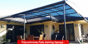 Polycarbonate Patio Awning Canopy