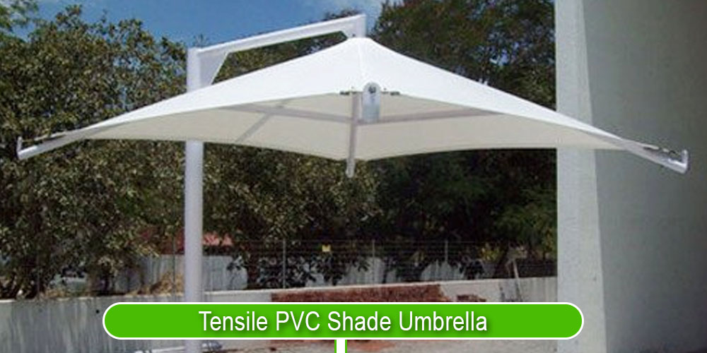 Tensile PVC Shade Umbrella